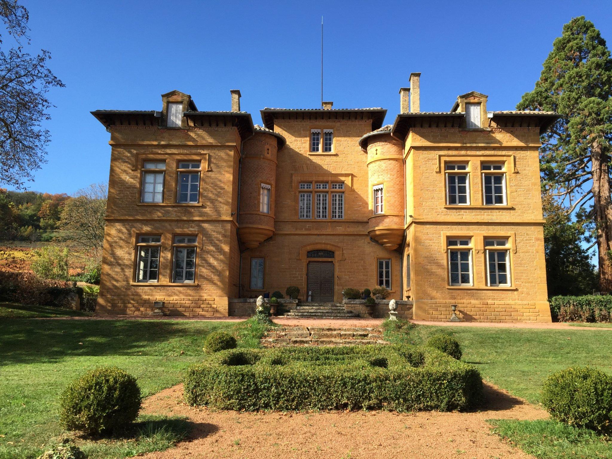 Château de la Lucardière, 16 pièces, 550m²